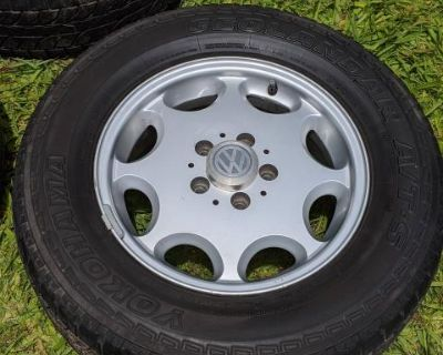 Mercedes rims/wheels & tires with stock spare
