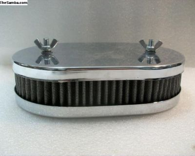 Chrome 40-42 DCNF Air Cleaner with Filter