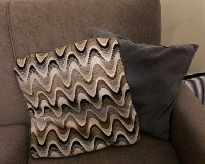 Two couch cushions