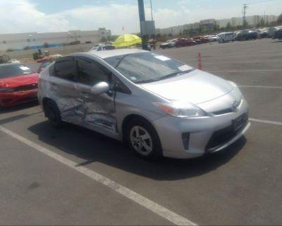 Salvage Silver 2015 Toyota Prius