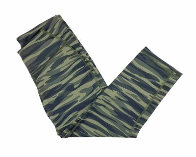 Old Navy Active Camo Go-Dry CROPPED Yoga Pants