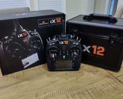 iX12 12-Channel DSMX Transmitter Only W/Case ***Mint***