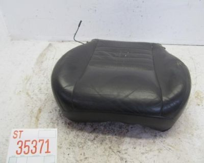 00 Mustang Coupe Left Driver Front Seat Lower Bottom Cushion Oem Leather