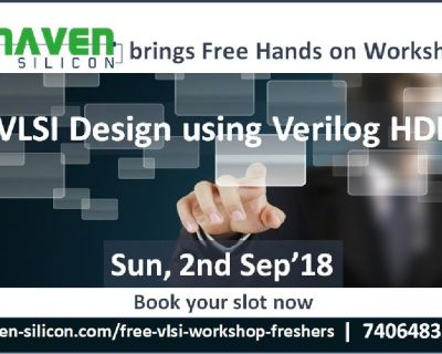 Register now for FREE hands-on session on VLSI Design using Verilog HDL