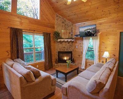 Gatlinburg/Pigeon Forge Area*Beautiful, Secluded,Luxury Cabin,Families,Couples* - Sevierville