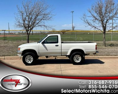 Used 1989 Toyota 4WD Pickups Short Bed DLX 5-Spd