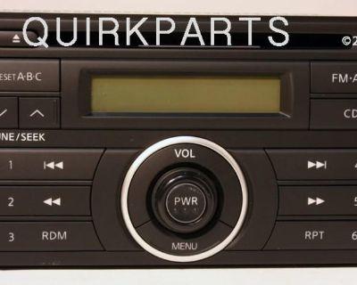 2007-2009 Nissan Versa Radio Cd Player Am Fm Audio Genuine Oe New