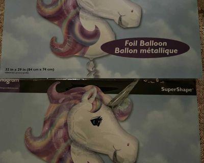 Unicorn balloons (2)