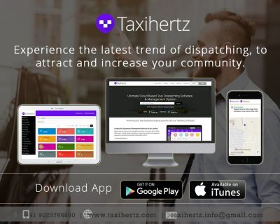 Taxi Dispatch and Booking Software
