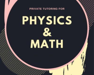 Physics Tutoring Offered