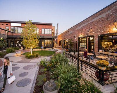 Open Concept Courtyard with Seating, Colorado, CO