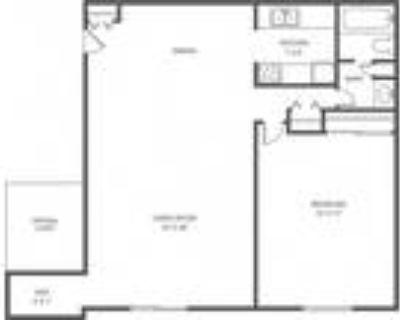 Alpine Court Apartments - AC 1 Bed 1 Bath Den 781sqft
