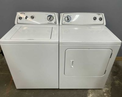 Whirlpool Washer and Electric Dryer Set