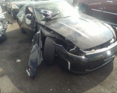 Salvage Black 2020 Nissan 370z Coupe