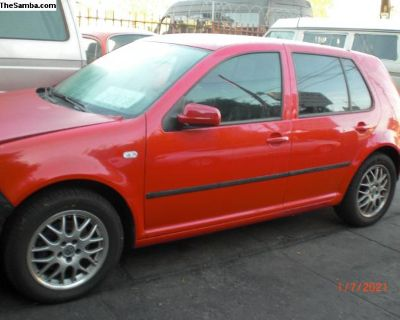 Parting out1999 Golf 4 drs