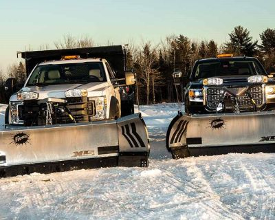 "Fisher Engineering XLS 8' 6"" to 11' Snow Plow Blades Erie, PA"