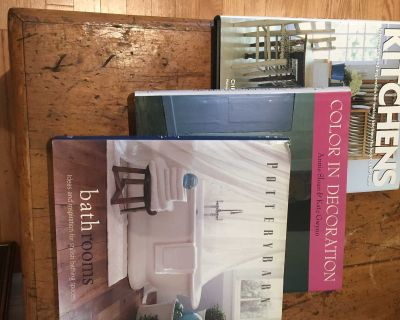 DECORATING BOOKS: ANNIE SLOAN, KITCHENS, POTTERY BARN BATHROOMS 3/$10