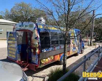 Ford E350 Mobile Kitchen Food Truck with Rebuilt Engine & Transmission