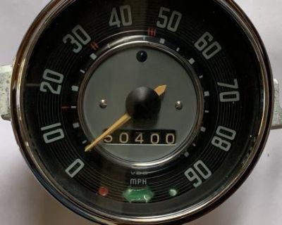 Used Speedometer (dated 6/65)