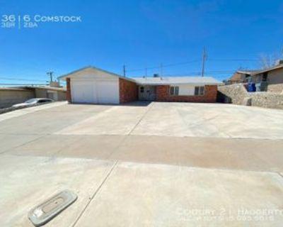 3616 Comstock Ct, El Paso, TX 79904 3 Bedroom House