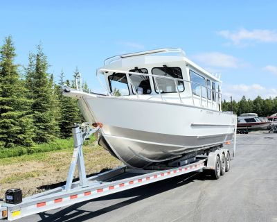 "2021 Raider Boats 28 Offshore ""SOLD"" Aluminum Fish Boats Soldotna, AK"