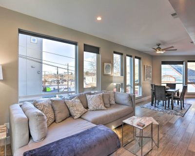 NEW! Townhome w/ Rooftop Deck: Walk to Mile High! - Jefferson Park