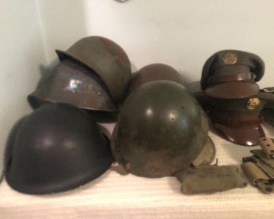 Naperville Military Memorabilia Uniforms WWII and other. LIMITED PRIVATE SALE