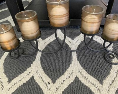 5 Arm Candle Holder
