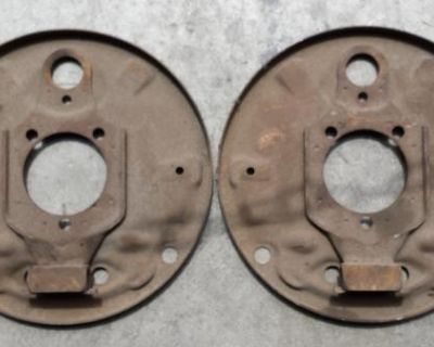 1968-Up Front Backing Plates Pair