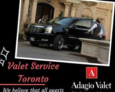 Best Valet Service Toronto offered by Adagio Valet