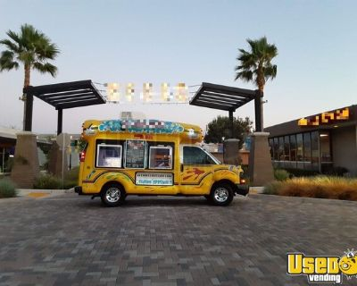 2006 Chevrolet Express 19' Snowie Snowball Truck / Bus Style Shaved Ice Truck