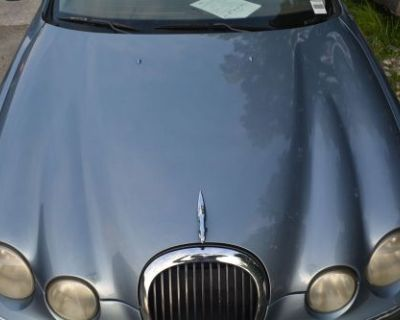 2000 2001 2002 Jaguar S-type Front Hood Blue Oem