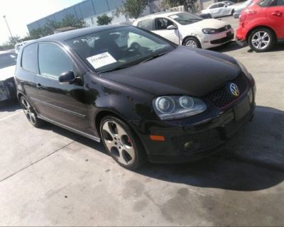 Salvage Black 2008 Volkswagen Gti