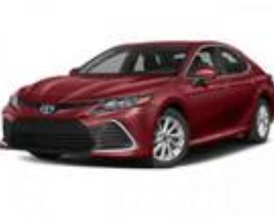 2021 Toyota Camry Red, new