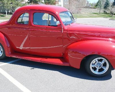 1940 Ford Deluxe Business Coupe Completely Restored!