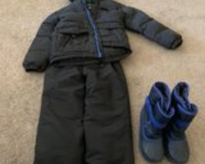 youth snow jacket/pants/boots
