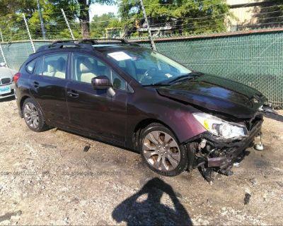 Salvage Purple 2013 Subaru Impreza Wagon