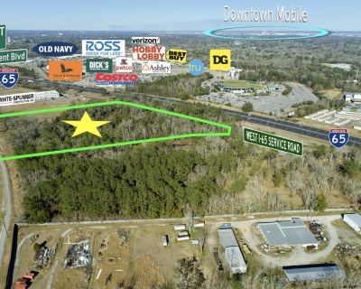 20 Acres off West I-65 Service Road with Interstate Visibility