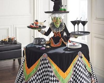 In search of Katherine Collection Greta Witch table top server 2017