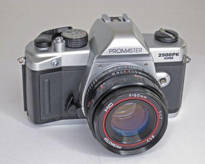 FS: Promaster 2500PK Super with 50mm MC f1.7 Lens (pentax K mount)