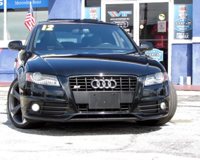 2012 Audi S4 4dr Sdn S Tronic Prestige