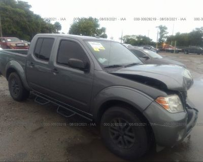 Salvage Gray 2016 Nissan Frontier