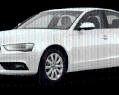 2013 Audi A4 Premium Sedan 2.0T quattro Automatic