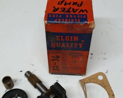 new nos 1932 1936 FORD Vintage Elgin Quality Water Pump