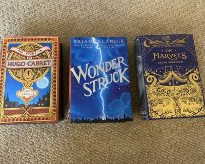 Set of three, great series! Hardcover. Great condition.