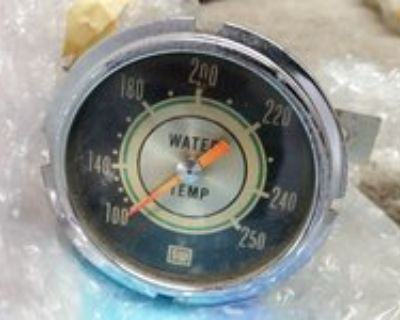 Stewart Warner 692H72 Green Line 2-5/8 In Water Temp. Gauge-Mechanical