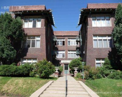 Beautiful Vintage Top Floor Corner Unit 1BR 2 Blocks from Cheeseman Park!