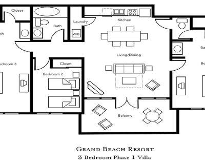 3 Bedroom at Grand Beach Resort in Orlando - Orlando