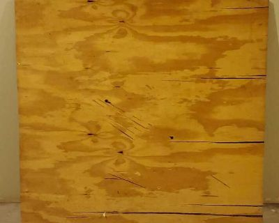 """3ft x 3ft 5 Plywood 3/4"""" Thick Sanded"""