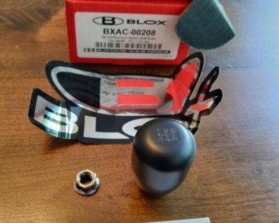 custom BLOX weighted shift knob 10 x 1.25mm - powder coated black
